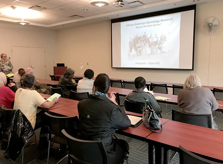 Elyse Hill Presentation opening slide